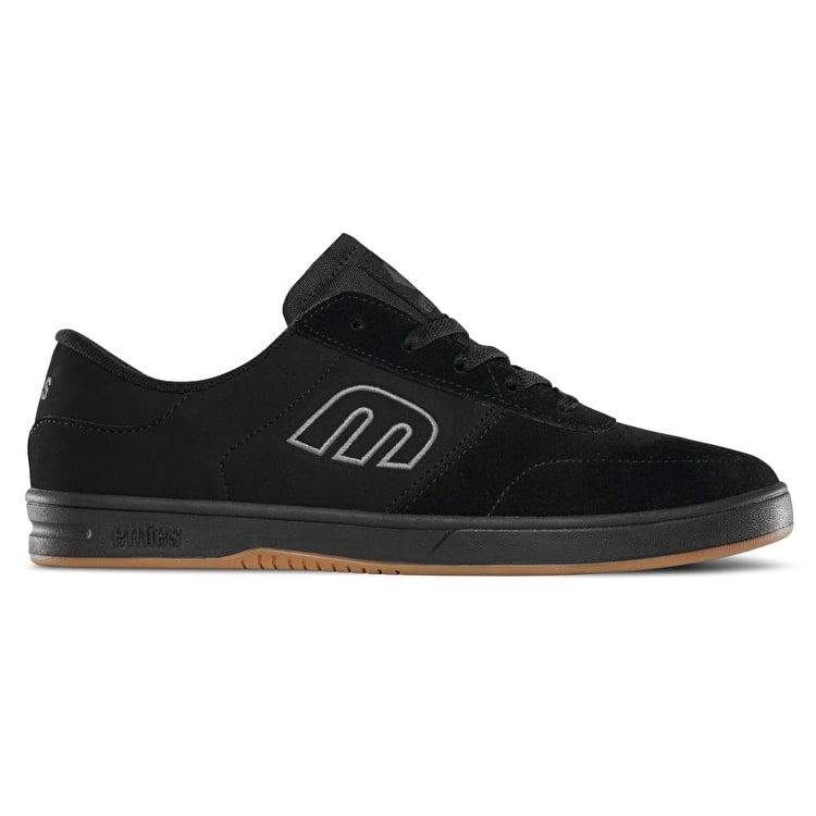 Etnies Lo-Cut Skate Shoes - Black/Red/Gum