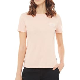 Vans Full Patch Crew Womens T-Shirt - Rose Cloud