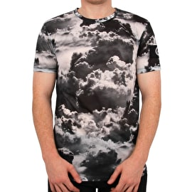 Hype Clouds T Shirt - Black