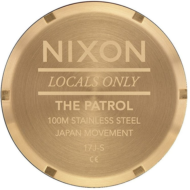 Nixon Patrol Watch - Gold/Black