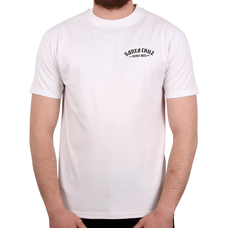 Santa Cruz Medusa T shirt - White