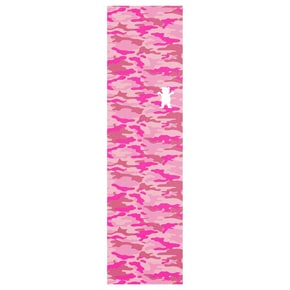 Grizzly Leticia Bufoni Camo Skateboard Grip Tape - Pink