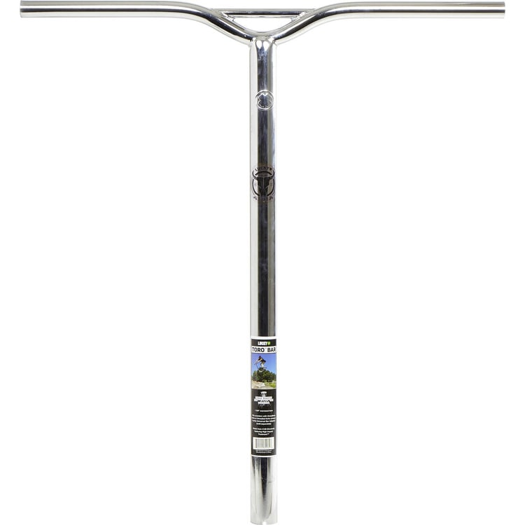 Lucky Toro Pro Scooter Handle Bars - Chrome