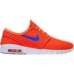 Nike SB Stefan Janoski Max Shoes - Total Crimson/Squadron Blue