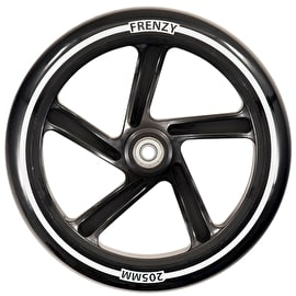Frenzy 205mm Scooter Wheel w/Bearings - Black