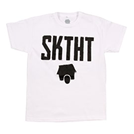 SkateHut SKTHT Kids T Shirt - White