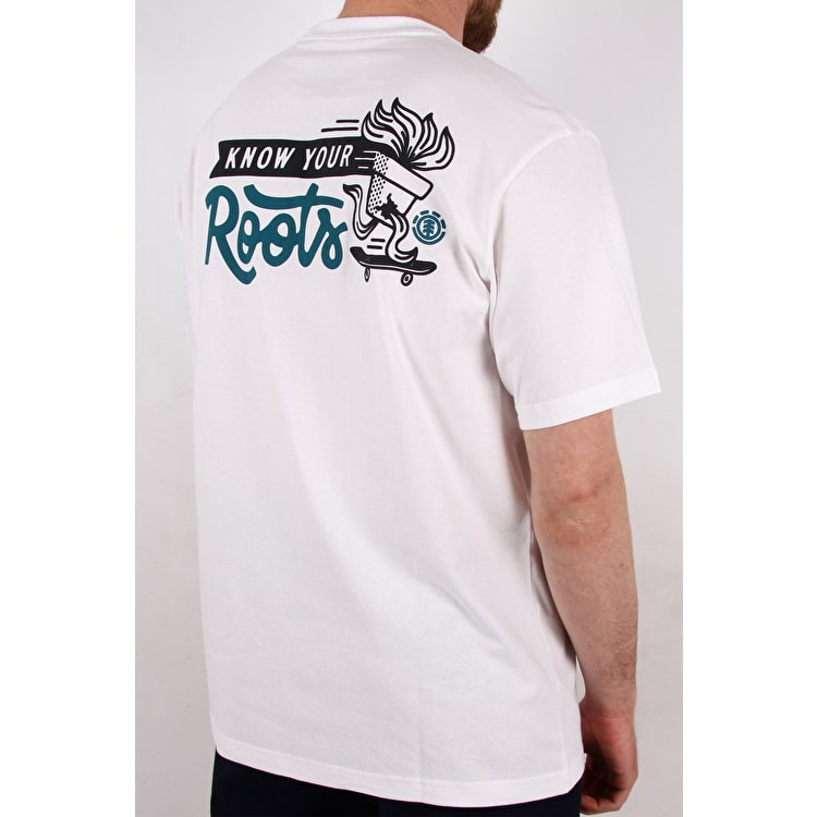 Element Roots T shirt - Optic White