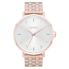 Nixon Arrow Womens Watch - All Rose Gold/White