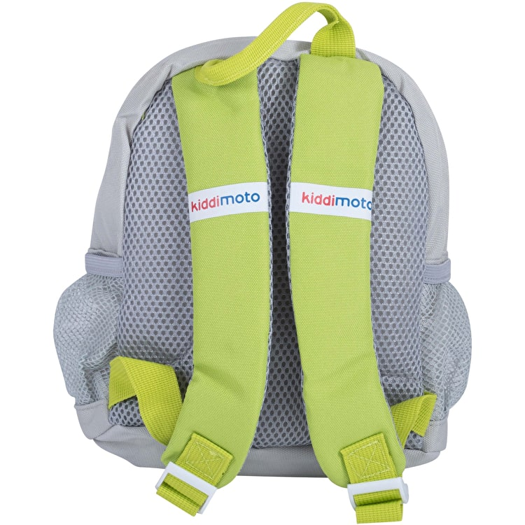 Kiddimoto Fossil Small Backpack - White/Grey/Green