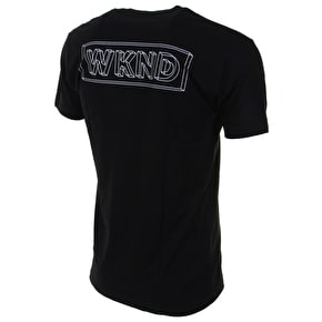 WKND Wire Frame T-Shirt - Black