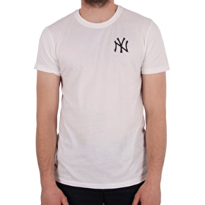 New Era East Coast Graphic T-Shirt - Yankees - White