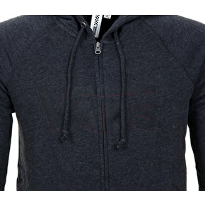 Vans Duck Dive Womens Zip Hoodie - Black Heather