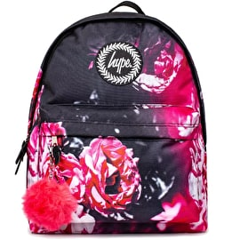 Hype Red Floral Backpack - Multi
