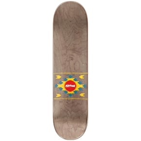 Almost Aztek Skateboard Deck - Rasta 7.75