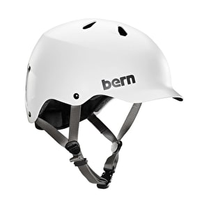 Bern Watts EPS Helmet - Satin White