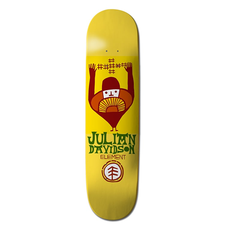 Element Taldea Skateboard Deck - Julian 8.125""