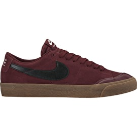 Nike SB Blazer Zoom Low XT Skate Shoes - Dark Team Red/Black