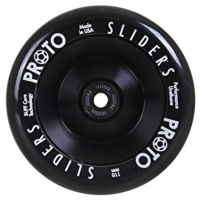 Proto 110mm Full Core Slider Scooter Wheel - Black