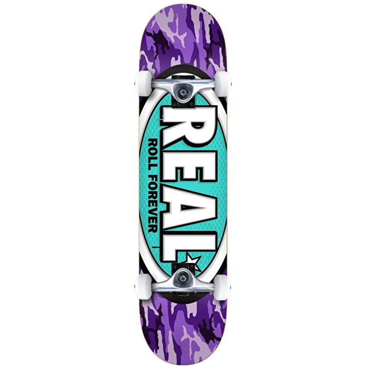 Real AWOL Ovals Complete Skateboard - 7.75""