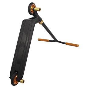 District HT-Series Custom Scooter - Black/Gold