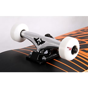 Enuff Doppler Custom Skateboard - Black/Orange 8.25