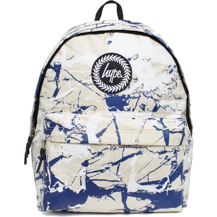 Hype Marble Backpack - Sand/White/Navy