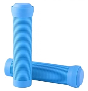 Blazer Pro Grips Flangeless with End Plugs Neon Blue