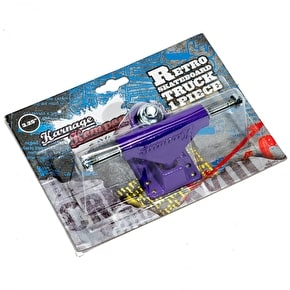 Karnage Retro Skateboard Truck - Purple (Single)