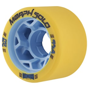Reckless Morph Solo 59mm Roller Skate Wheels - Yellow 95a (Pack of 4)