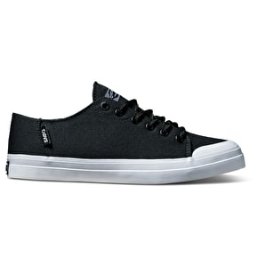 DVS Edmon Womens Skate Shoes - Black Canvas