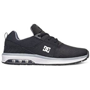 DC Heathrow IA Skate Shoes - Black/Grey/White