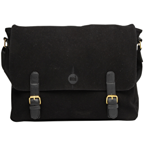 Mi-Pac Messenger Bag - Suede Black