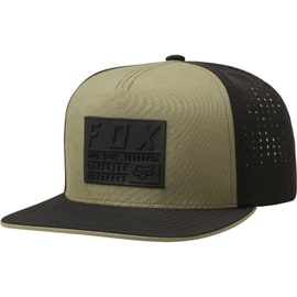 Fox Redplate Tech Snapback Cap - Green