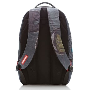 Sprayground Marvel Denim Patches Backpack