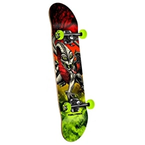 Powell Peralta Skateboard - Storm Cab Dragon Red/Green 7.75