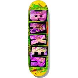 Baker Brand Name Finger Paint Hawk - Skateboard Deck 8.475