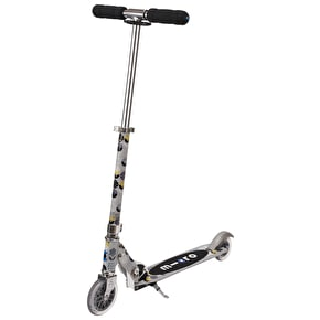 Micro Sprite Folding Scooter- Floral Grey