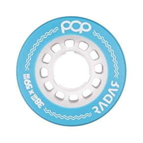 Radar POP 59mm Roller Derby Wheels - Blue 91a (Pack of 4)