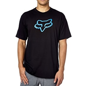Fox Legacy Foxhead SS Tee - Black/Blue