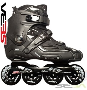 Seba High Black Inline Freeskates