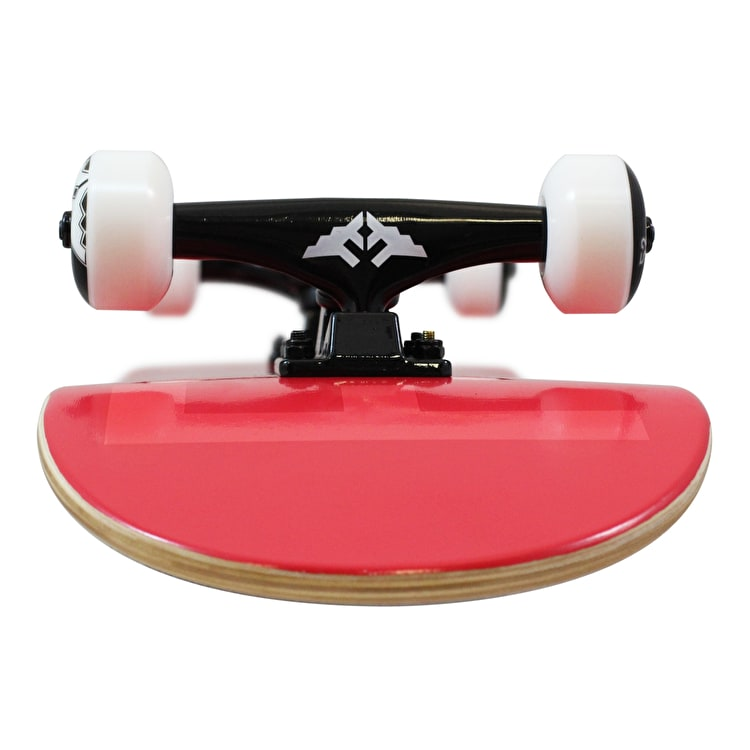 Fracture Fade Complete Skateboard - Red 7.75""