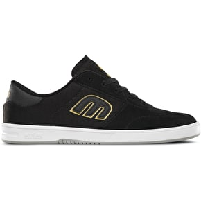 Etnies Lo-Cut Shoes - Black/Gold/Grey