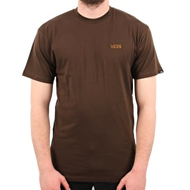 Vans X Independent Dual Logo T Shirt - Dark Chocolate