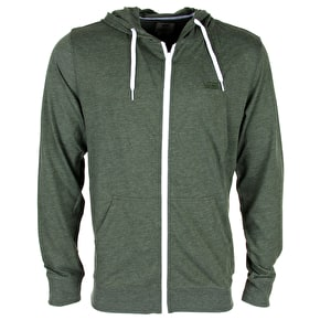 Vans Core Basics Zip Hoodie - Rifle Green Heather
