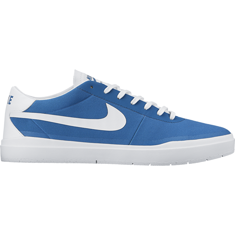 Nike SB Bruin Hyperfeel Cnvs Skate Shoes - Industrial Blue/White