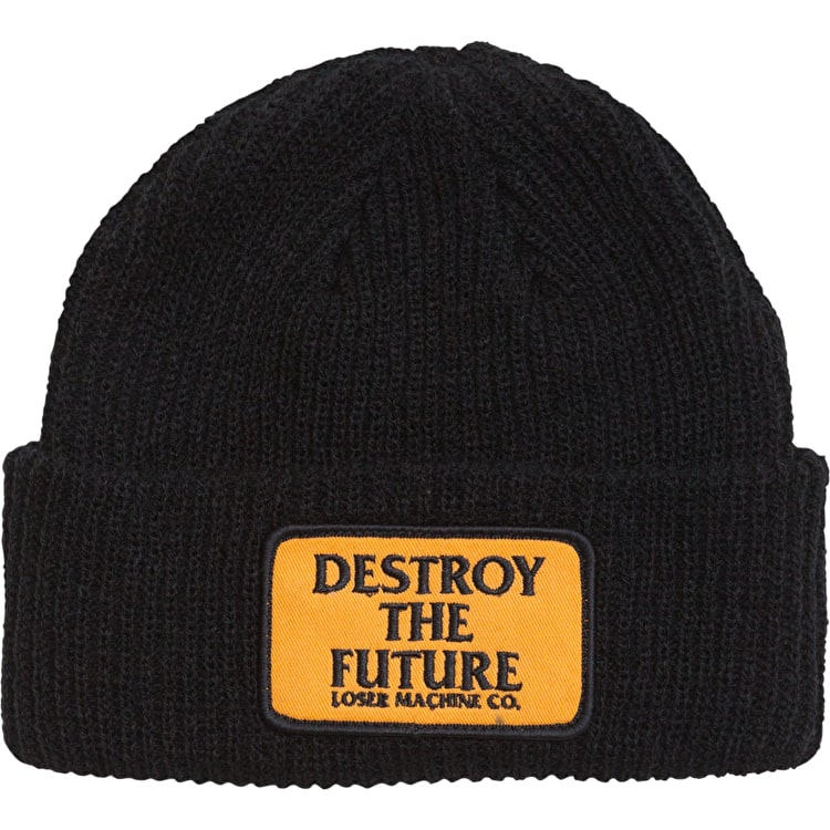 Loser Machine Token Beanie - Black