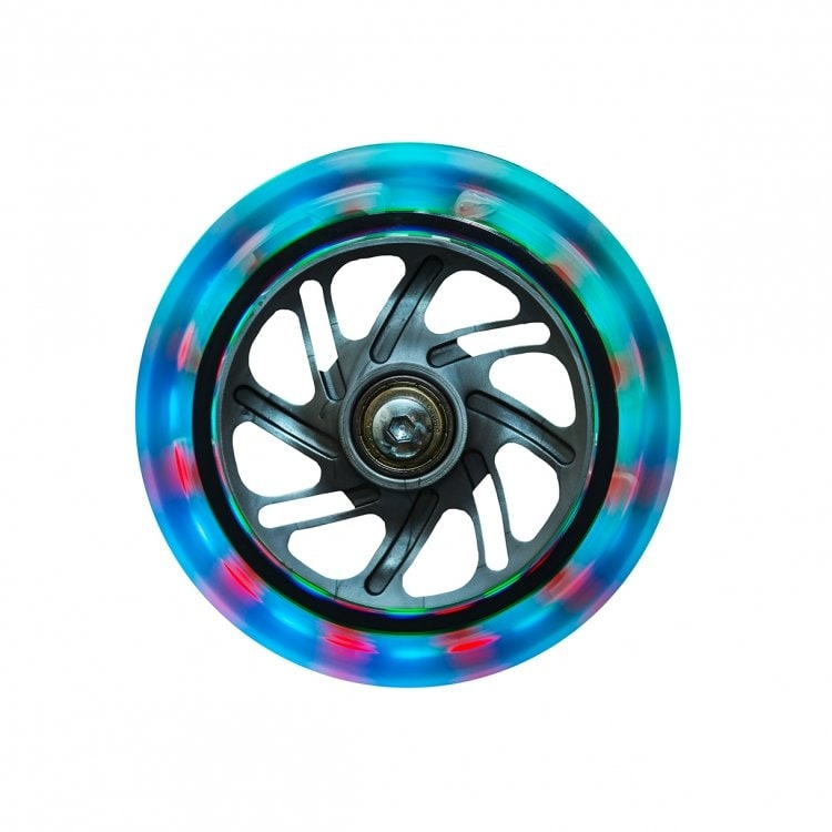 Globber Multicolour Lightning Wheel - Front Wheel - Set of 2