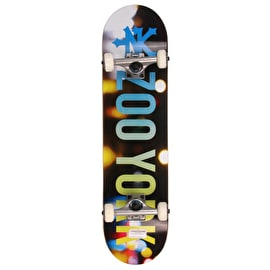 Zoo York City Lights Complete Skateboard 7.75