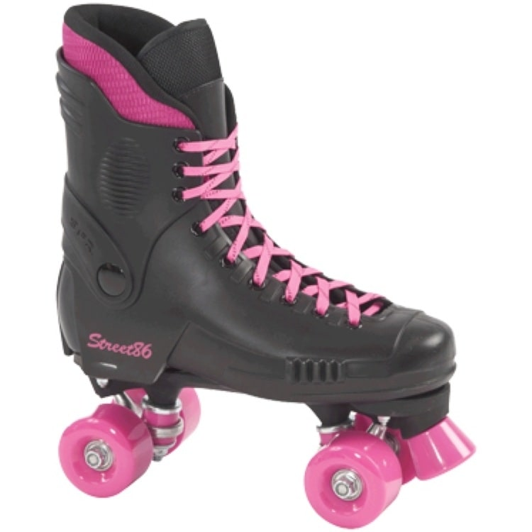 BStock SFR Street 86 Quad Skates  Pink Trim  UK 4 (Box Damage)