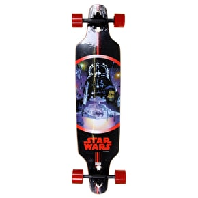 Star Wars Freeride Dropthrough Longboard - Darth Vader